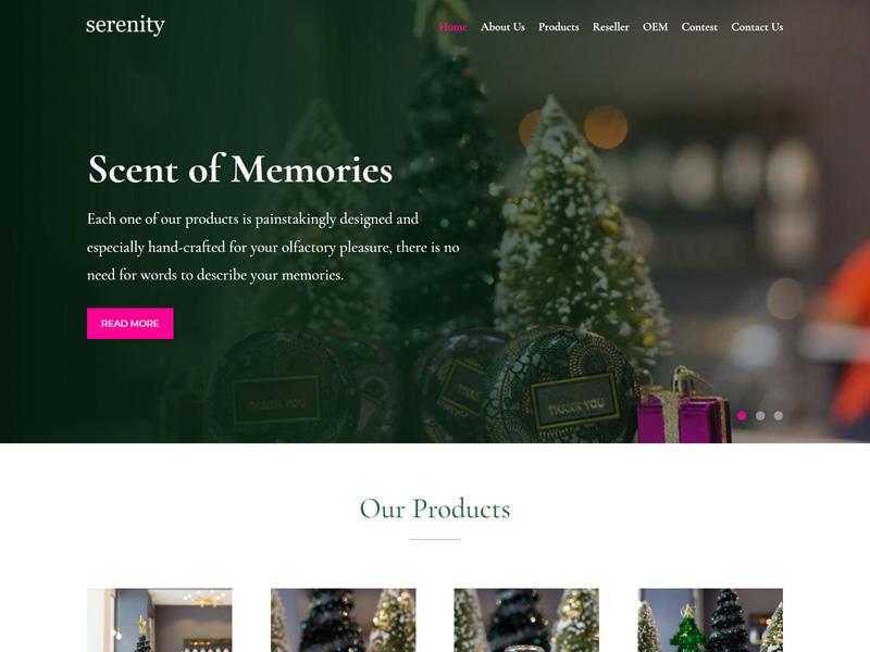 Serenity : Scent of Memories